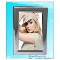 Cheap Quality Satin Silver Plain Picture aluminum Photo Frame for sale