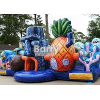 Cheap Backyard Inflatable Bounce House For Playland Inflatable Spongebob Toddler Obstacle for sale