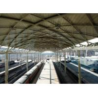 Cheap Prefabricated Railway Station Steel Frame Structure With Space Frame Roof for sale