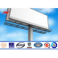Cheap Anticorrosive 3 in1 Round LED Outdoor Billboard Advertising With Backlighting 8m for sale