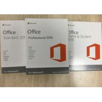 Buy cheap Full Version Microsoft Office Professional Plus 2016 License Key / Retail from wholesalers