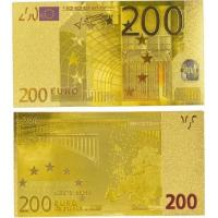 Cheap Paper Money Colorful 200 Euro Gold Banknotes Collection for sale