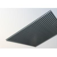 Cheap Waterproof Polycarbonate Roofing Sheets Customized Size High Mechanical Strength for sale