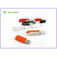 Cheap 2 In 1 Multifunction Plastic Blue Usb Pen Memory Stick For Students , Teacher And Officer for sale