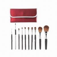 Cheap Kabuki Makeup Kit with Wooden Handle for sale