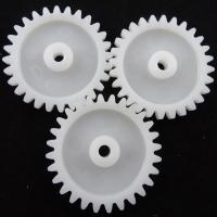 Cheap High Precision Gears In POM 100P Plastic Gear Moulding , Custom Molded Plastic Parts for sale