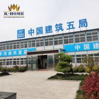 China Workers Sandwich Panel Prefab House For Mining And Oil Construction Site on sale