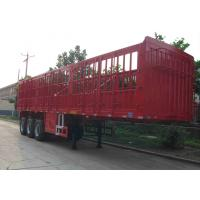 Cheap 40T Tractor Trailer Truck / Warehouse Gate Semi Trailer With Mechanical Suspension for sale