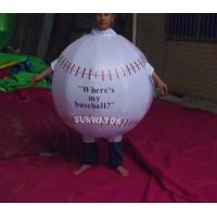 Quality Promotion Lovely Inflatable Ball Advertising Costumes With FR rip stop nylon wholesale
