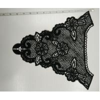 Cheap Black Crochet Lace Collar With Beautiful Design , Eco Friendly for sale