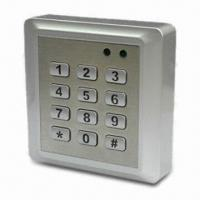 Cheap Access Control Keypad, Waterproof, 2,000 cards capacity for sale