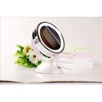 Cheap 1x 5x Magnifier LED Makeup Mirror Round Double Side Battery Operated for sale