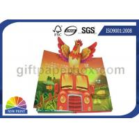 Cheap Custom Pop Up Book Printing Services / Children Reading Book Printing for 3D Book for sale
