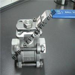 API Industrial NPT Female Thread 3 PC SS 304 316 DN 20 With pad