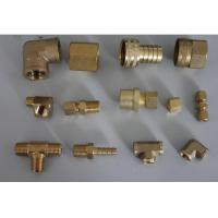 Custom cnc brass pipe fittings made in china professional