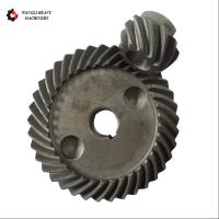 Cheap Carbon Steel Forging Large Module Crown Gear Ring and Pinion Gear Set for sale