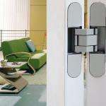 Cheap high class zinc alloy flush doors 3D adjustable concealed hinge for sale