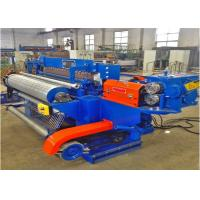 Cheap Galvanized Wire Mesh Roll Mesh Welding Machine 50KWA X 6 Low Power Consumption for sale