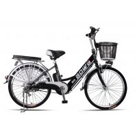 Cheap 48V Womens Hybrid City Lithium Bicycle , Electric Assisted Bicycle With Electric Motor wholesale