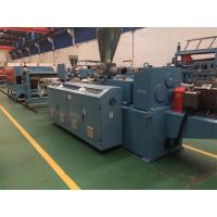 China Window / Door Profile Extrusion Machine , Plastic Extruder PVC Raw Material on sale