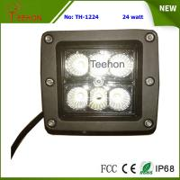 Cheap 24 Watt Square LED Working Light for 4WD Vehicle and Heavy-Duty Truck for sale