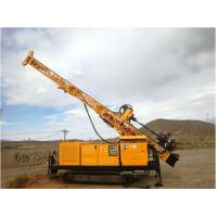 Cheap RC300 Full Hydraulic Top Drive Crawler Core Drill Rig Borehole Depth 300 M for sale