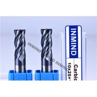 Cheap High Feed End Mill For Hardened Steel , Polish Surface High Speed Steel Cutter for sale