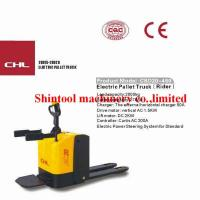 Quality 2000kg Powered Pallet Truck Electric 600mm Load Center With PU Wheels wholesale