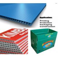 Cheap Waterproof Corrugated Plastic Sheets for sale