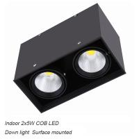 Cheap Interior IP40 surface mounted 10W COB LED downlight for home hotel for sale