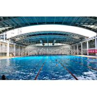 Cheap Energy Savings Prefabricated Steel Structures Swimming Pool Roof Covers for sale