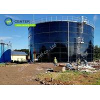 Cheap Convenient Bolted Steel Tanks For Commercial Water Storage High Durability for sale