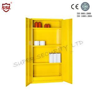 Cheap Adjustable Shelf 36liter Hazardous Flammable Substance Storage , Medium Cabinets for sale