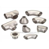 China 316L Stainless Steel Sanitary Fittings / 304 Stainless Steel Tee Forged on sale