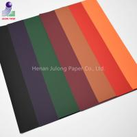 Cheap Soft Touch paperboard coated velvet flocked paper for gift wrapping packaging for sale