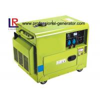 Cheap CE Air - cooled Silent 5kw Diesel Driven Generator with Electric Starting for sale