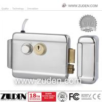 China High Security Electric Rim Lock with Double Cylinder & Nickel Plating on sale