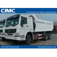 China HOWO tipper truck 8*4-380HP-22cbm-Dump CNG power--ZZ3317N3867C1C/CNG on sale