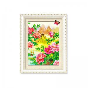 Cheap Flowers And Plants 5D Images Lenticular Art Prints For Restaurant Decor for sale