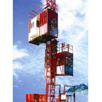 Cheap Customized Color Construction Material Hoists , Construction Elevator With 36m / Min To 96m / Min Speed for sale
