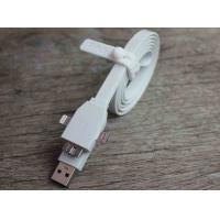 Cheap Samsung Note3 Micro USB Charger Cable White Noodle Flat Micro USB 3.0 Cable for sale
