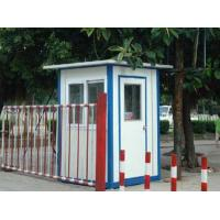 Cheap White Mobile Portable Modular Homes , Light Sloping Roof House for sale