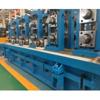China Rectangle Ss Steel Pipe Manufacturing Machine / MS Tube Mill Machine Line on sale