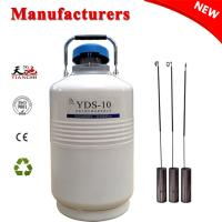 Cheap China Cryogenic Tank 10L Storage Liquid Nitrogen Gas Cylinder TIANCHI Manufacturer for sale