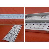 High Strengh Steel Scaffold Planks Platform More Than 6 Years Service Life