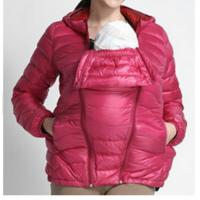 Cheap Custom Mama babywearing high quality baby carrier coat /jacket with pocket hoody for sale