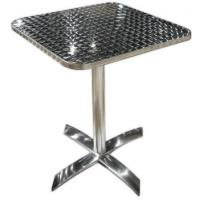 Cheap Customized Commercial Aluminum Indoor / Outdoor Table With Rectangular Top for sale