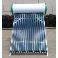 China Solar Electric Water Heater 150L , Solar Thermal Hot Water Heater No Pumps on sale