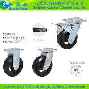 Cheap KI1129 Kaiston Heavy duty Rubber Caster for sale