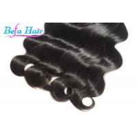 "Cheap 21"" 23"" 100% Human Hair Bulk , Peruvian French Curl / Loose Wave Virgin Hair Bulk for sale"